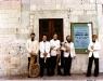 Pentagon in Spoleto (1977) L-R Warren Deck, Mark Gould, Dave Langlitz, Joe Anderer, EC