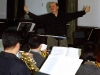 Conducting sectional rehearsal with the Daejon Philharmonic, 2001